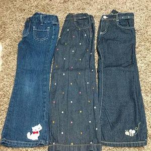Gymboree jeans bundle